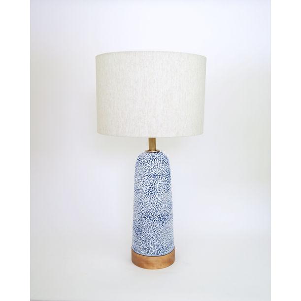 Blue Crawl Lamp by Natan Moss