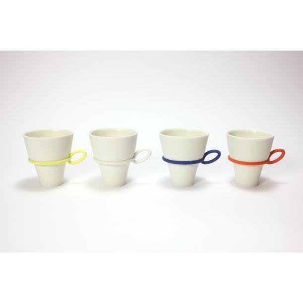 String cup (oval handle) by Atsushi Kitahara