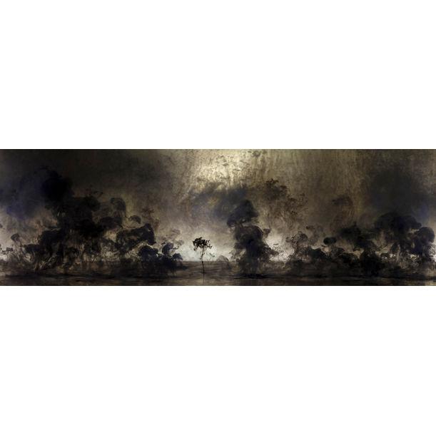 Mushrooms and Trees 5 by Van Chu