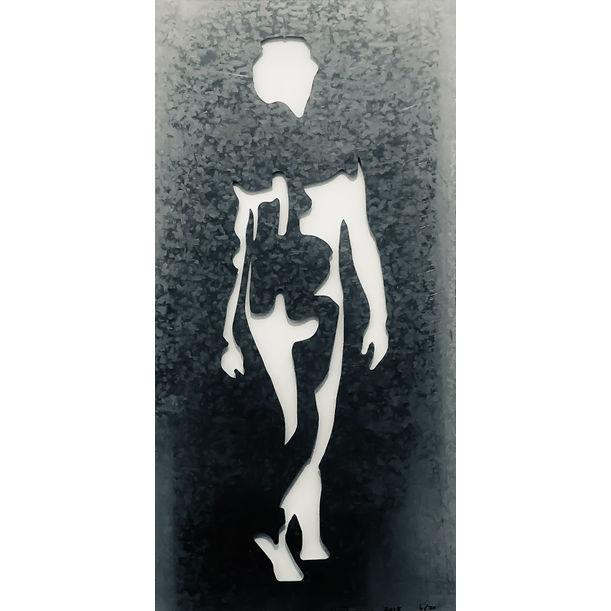 Shadow 1 Stencil (Honeymoon) by Jonathan Thomson