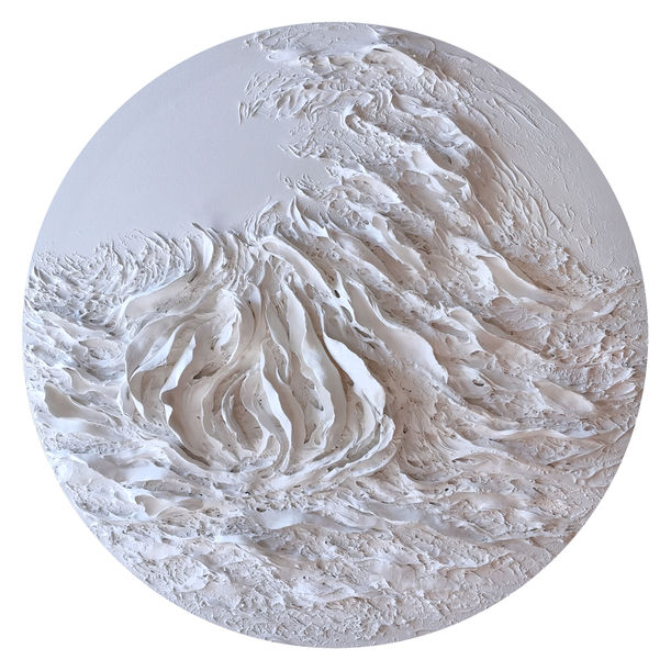 Waves and Lotus 1 by Jessie Siu