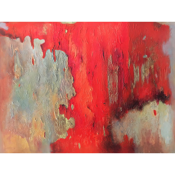 Poetry in Red 6 by Shan Re
