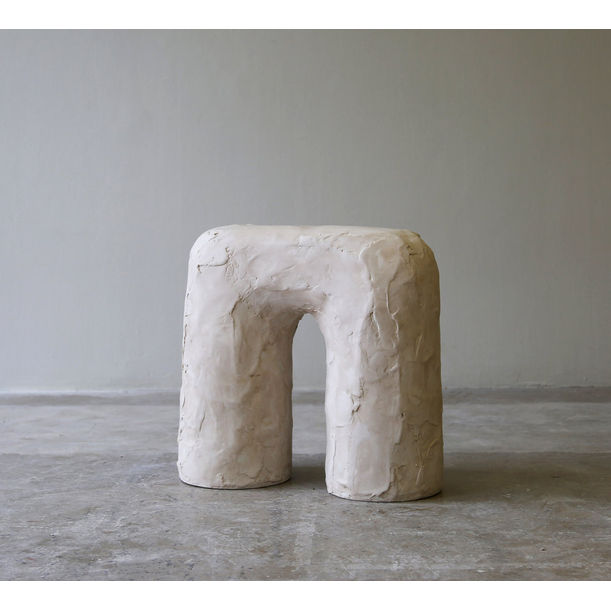 Solid Fluid Spackle Stool by Hayden Richer