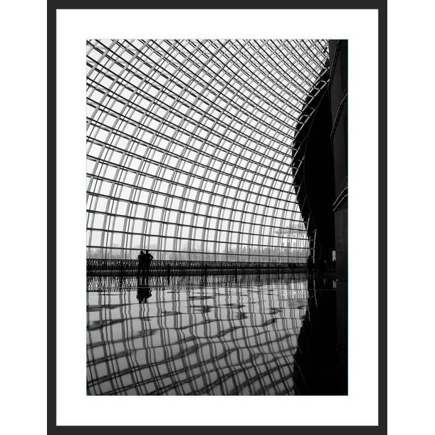 Inside the Dome (Framed) - Limited Edition 4/12 by Serge Horta
