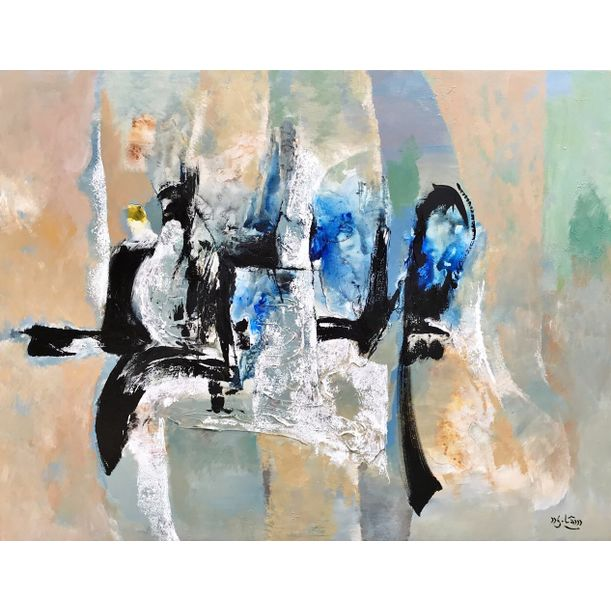 Untitled Abstract II by Nguyen Lam