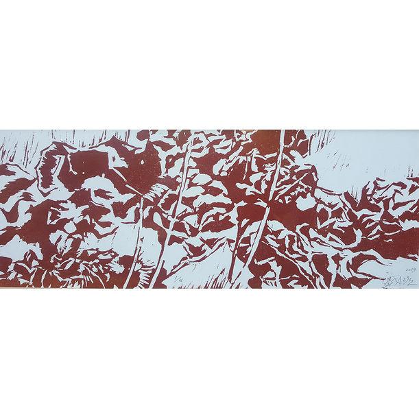 Red Hydrangea II by Yu Jen-chih