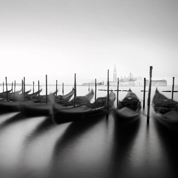 Gondolas study by Alexandre Manuel