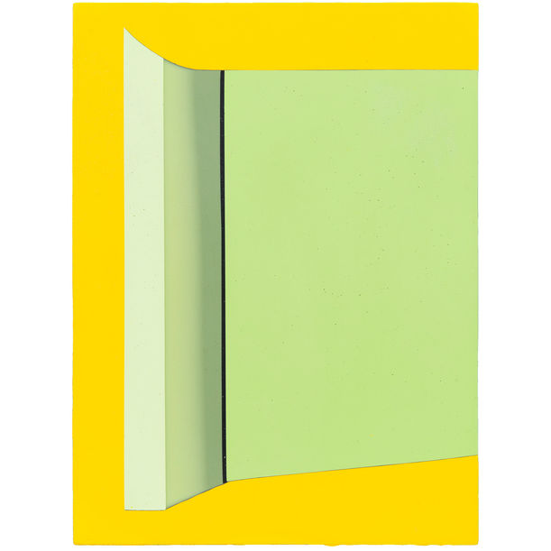 Appendage with Yellow by Philip Cole