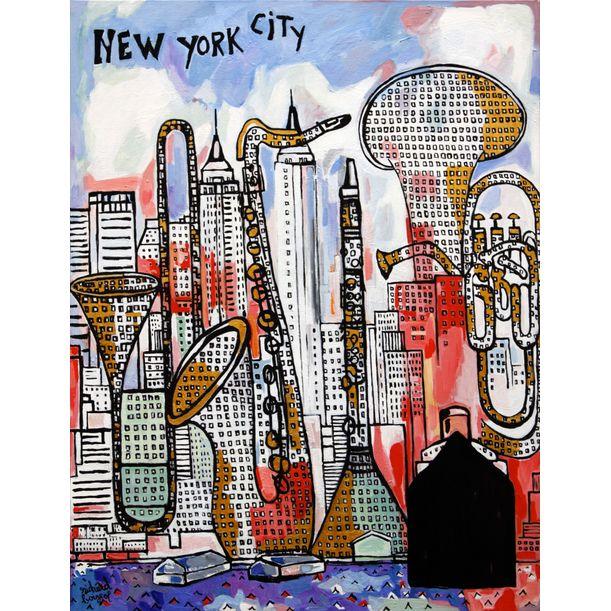 New York City by Richard Boigeol