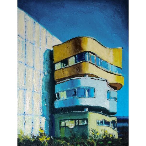 Wall house 2 by Mihai Cotiga