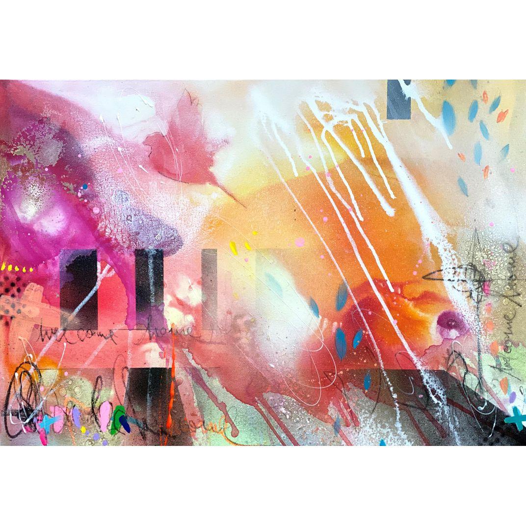 Welcome Home II by Bea Garding Schubert