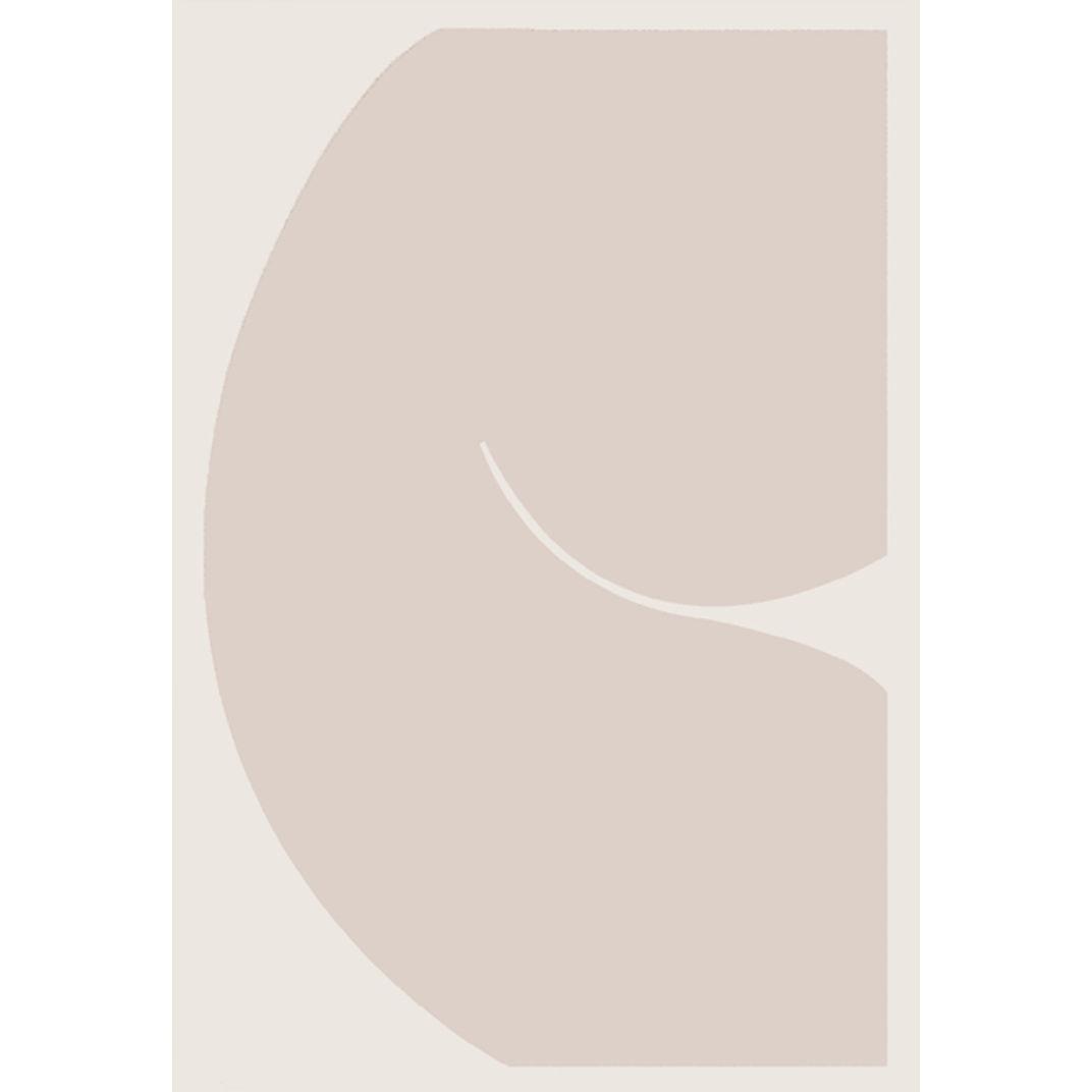 Body Language III (Neutral Stone) by Caroline Walls