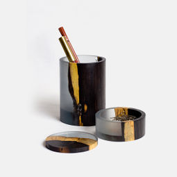 INK AND WASH SERIES - Pen Holder & Storage Box by EY-PRODUCTS