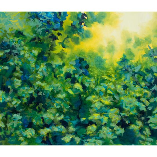 Garden's corner by Fabienne Monestier