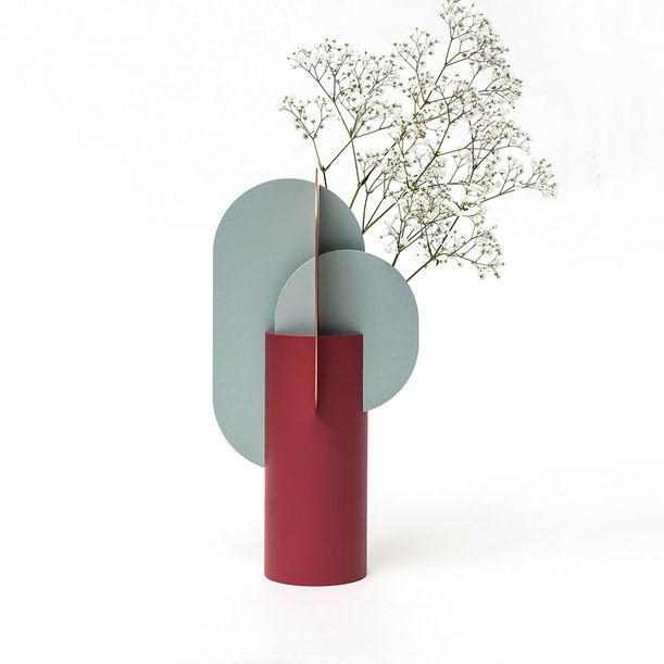Modern Metal Vase Ekster CS1 by Noom