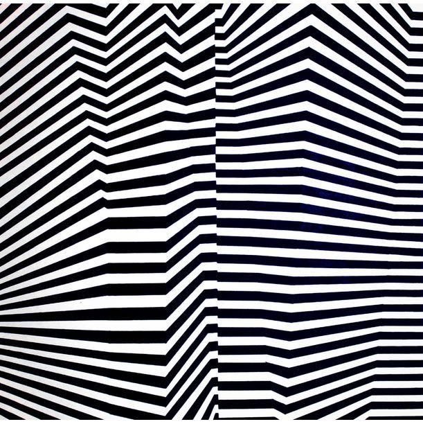 Folded pattern by Cristina Ghetti