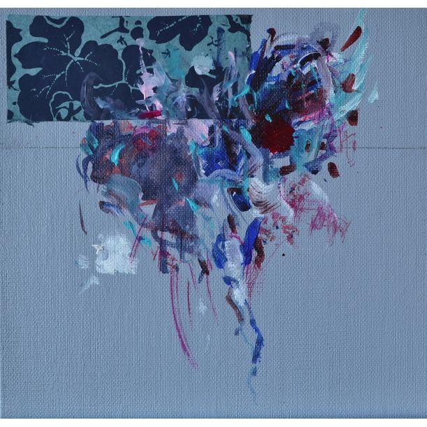 Flower Window II by Karin Goeppert