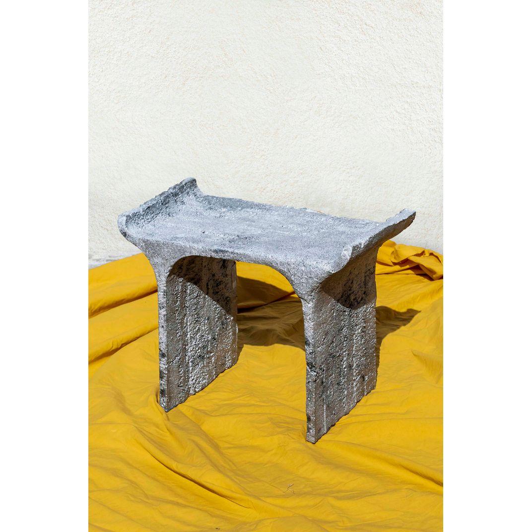 TORI Low Stool by Ries Studio