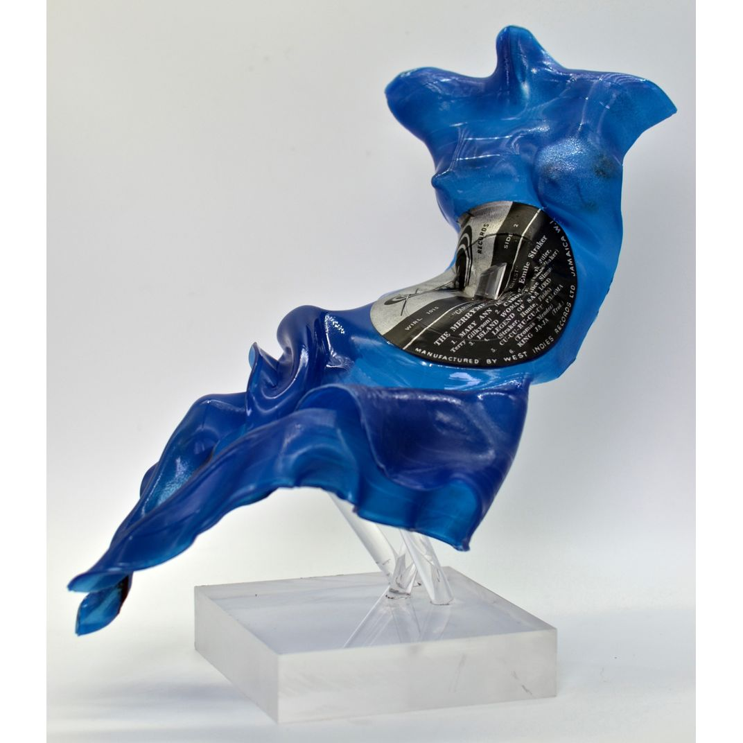Blue Island Woman by Seona Mason
