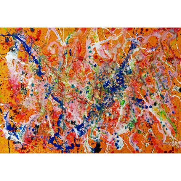 """Orange feeling"" by Caroline Vis"