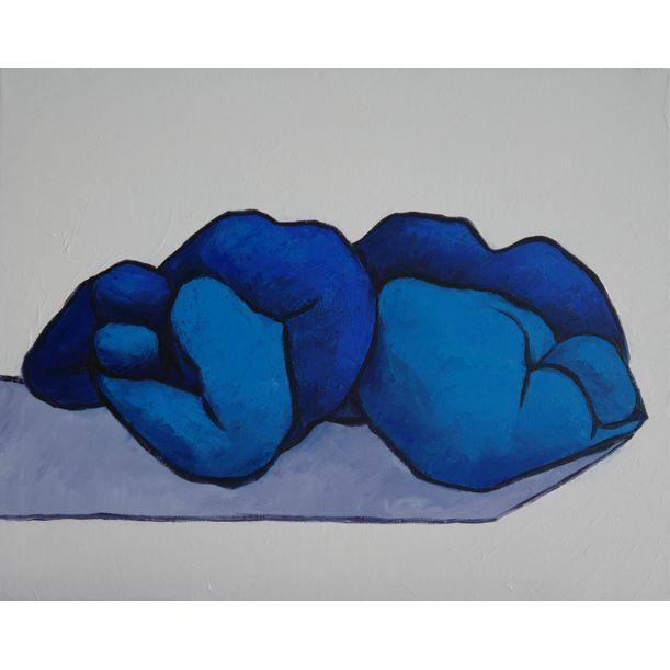 Lovers feeling blue by Ta Thimkaeo