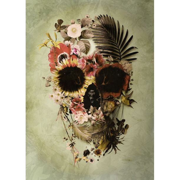Garden Skull by Ali Gulec