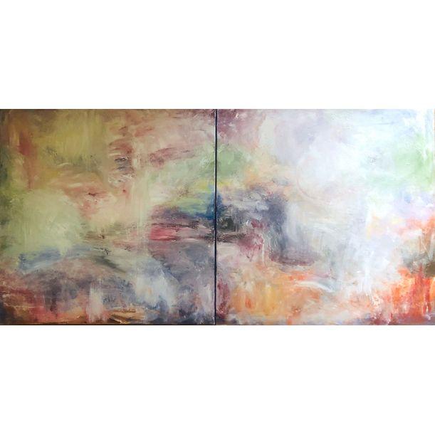 Knots of the mind: Heaven I & II by Jenny Okumura