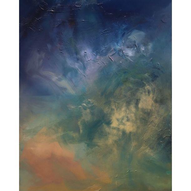 Blue Repose by Ann Jessica Chan
