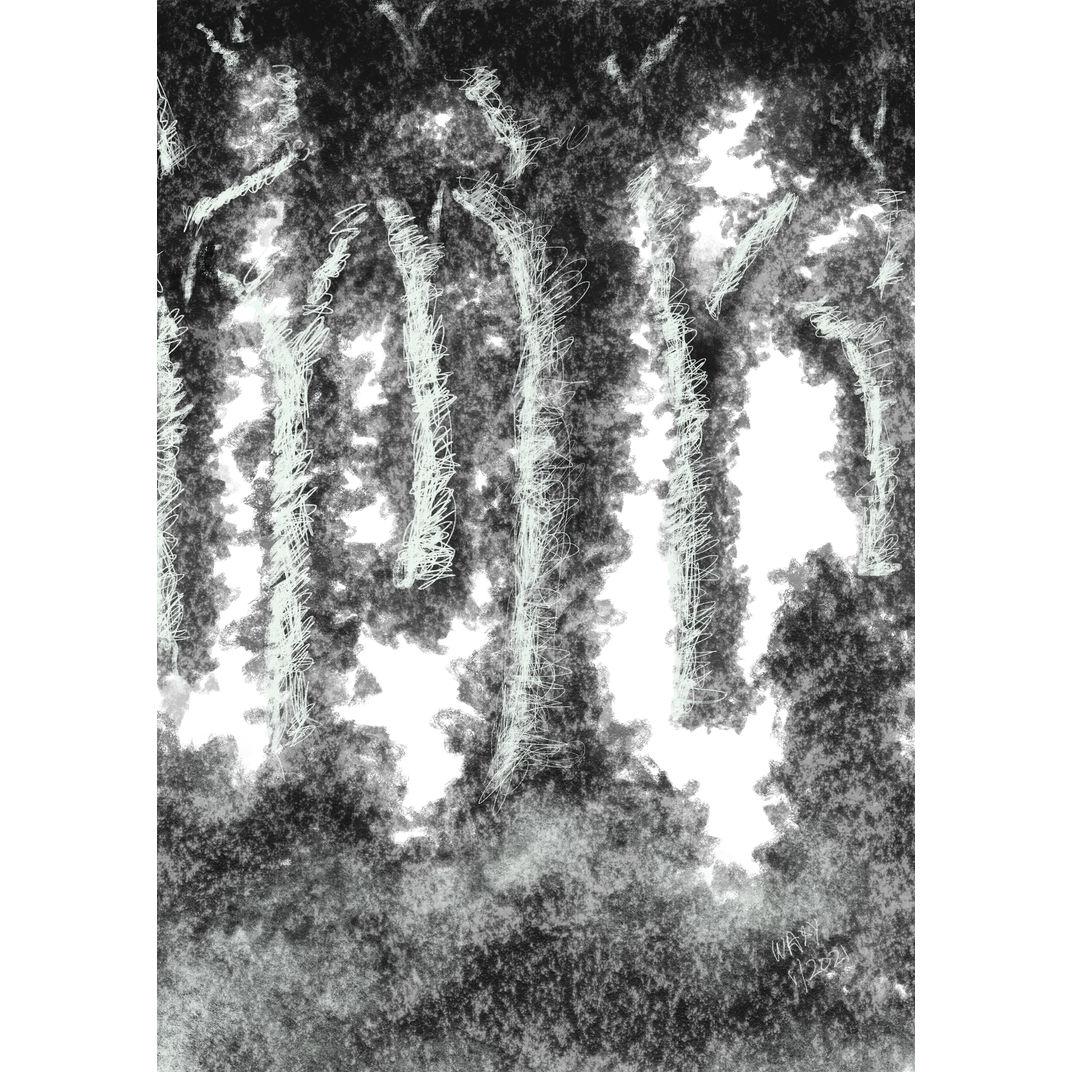 Black Forest II by Tan Kah Wah