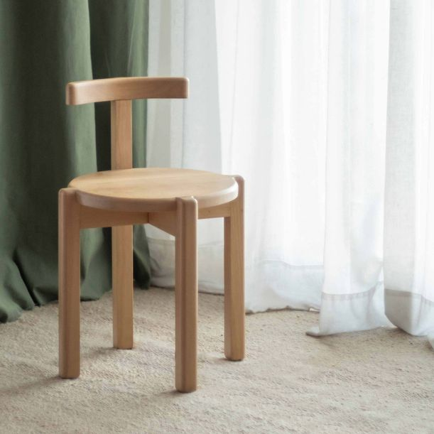 ORNO Dining Chair by Ries Studio