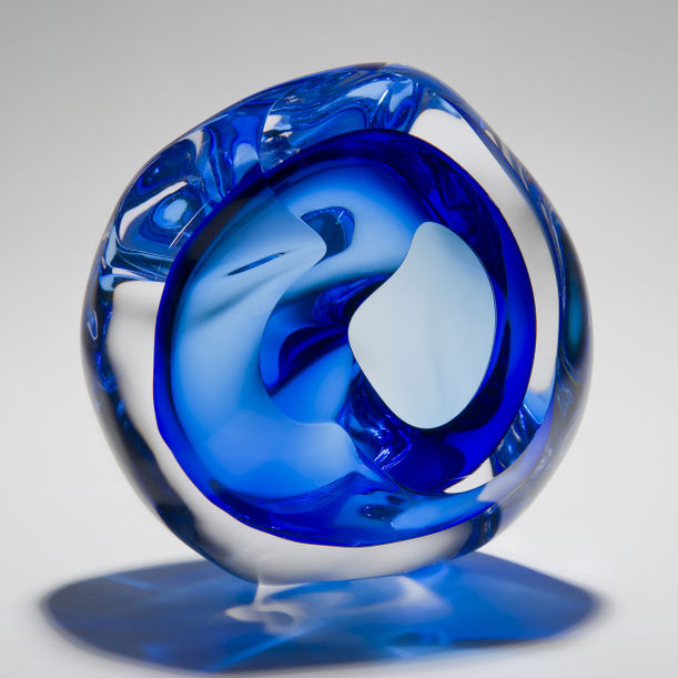 Vug in Blue by Samantha Donaldson