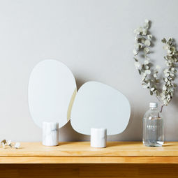 Marble Mirror Forest Set (Tall+Wide) by A.M IDEAS