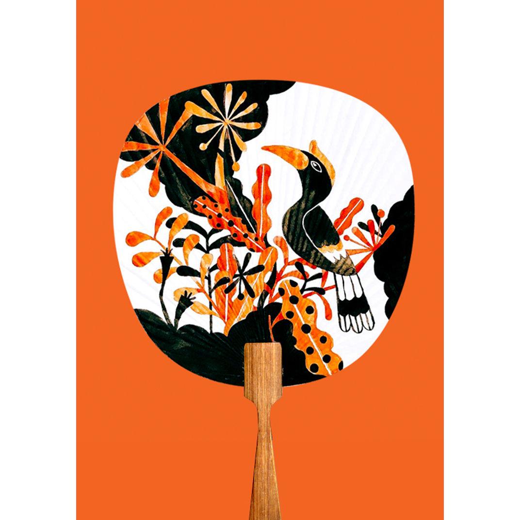 Midsummer Night's  Hornbill by kuanth