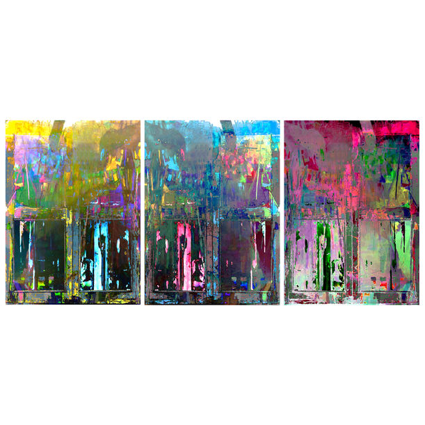 Momentary Visions (Triptych) by Abhishek Kumar