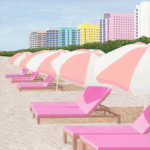 South Beach Sundays by Kate Powell