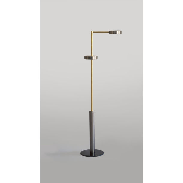 TWO CYLINDERS – FLOOR LAMP by Square in Circle Studio