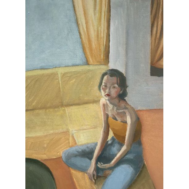 In the Living Room by Yi Zhou_Zoe
