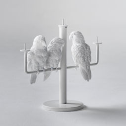 Parrot X CANDLE HOLDER - 3 Parrots by haoshi design