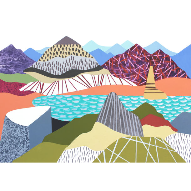 In the Mountains 10 by Lucie Jirku