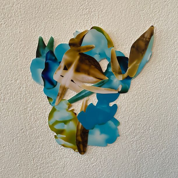 Posie (lily, rose, gladiolus) by Rachael Jablo