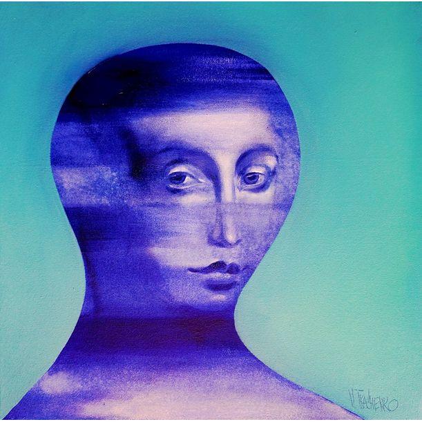 Blue by Victor Tkachenko