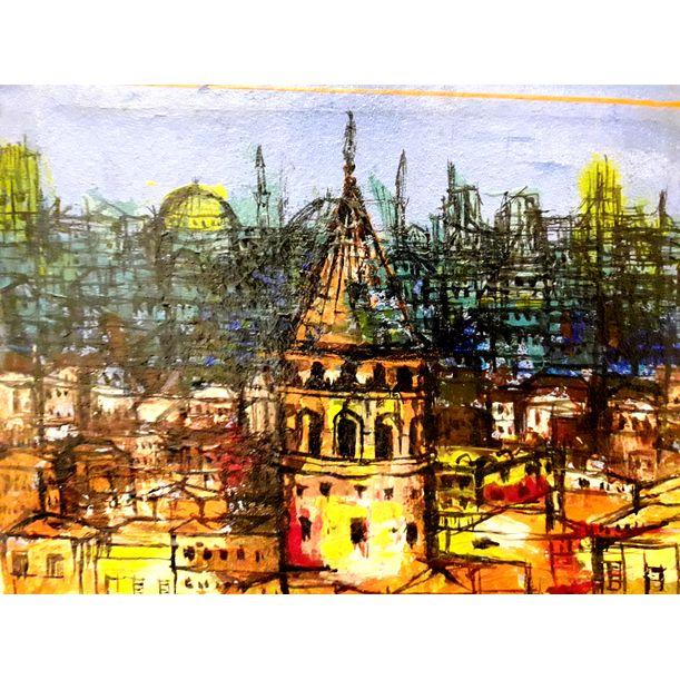 Galata by Nuri Özçelik