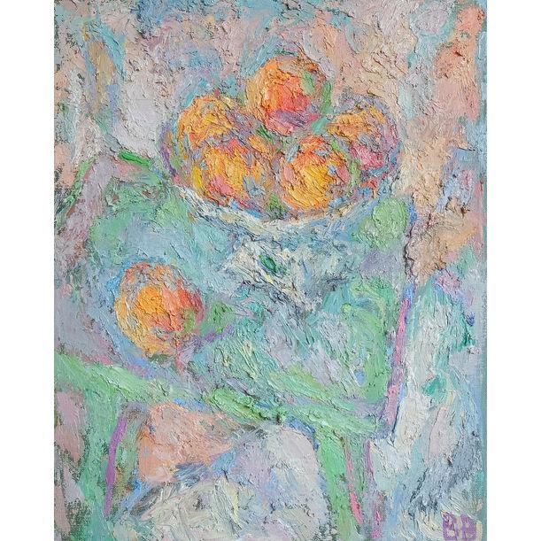 Peaches by Varvara Vyborova