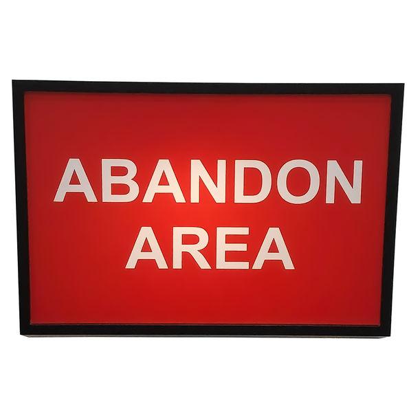 Abandon Area (Let Yourself Go / Vale Hong Kong) by Jonathan Thomson