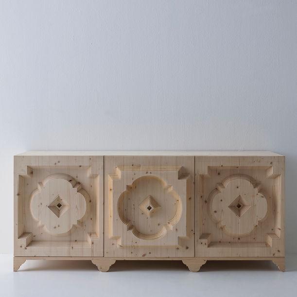 """ Cortina collection "" sideboard by Sebastiano Bottos"