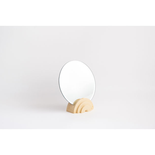 Scala Collection Table Mirror - Apricot by Extra&Ordinary Design