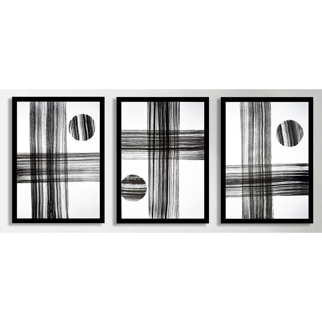Triptych Untitled No. 83 by Sumit Mehndiratta