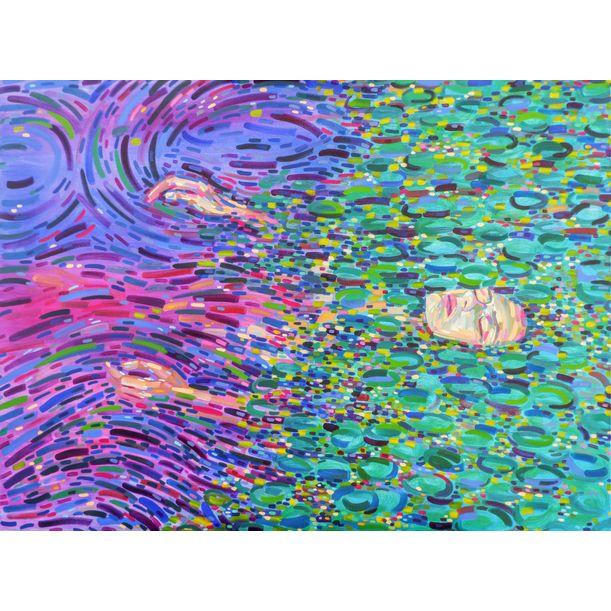 Water flow by Van Lanigh