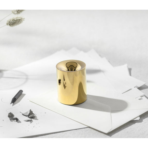 FUNNO -Pencil Sharpener& Paper Weight-Gold by Beyond Object