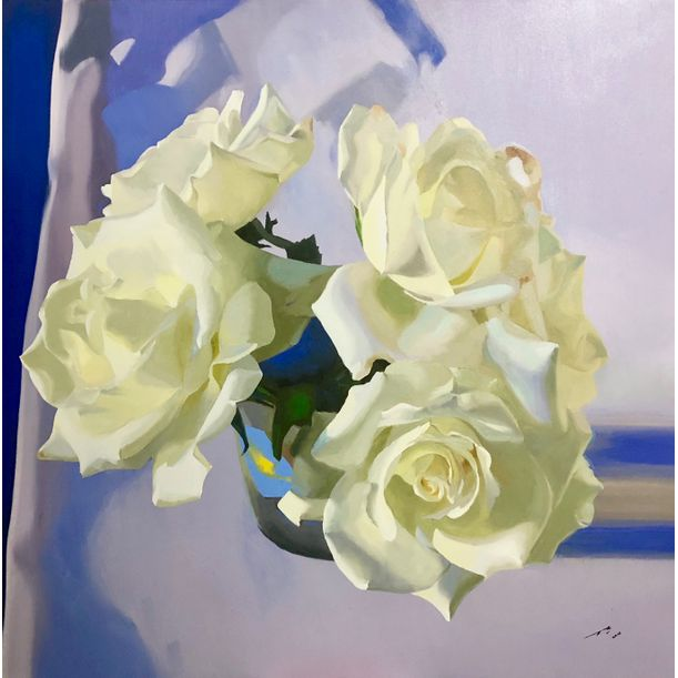 White Roses # 2 by Maung Aw